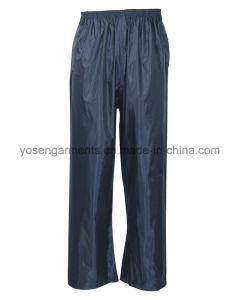 Adult′s Polyester Polyester/PVC Waterproof Rain Suit Rainsuit Raincoat Workwear Rainwear pictures & photos