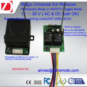 Universal 12V/24V 2 Channel Gate/Garage Door Remote Control Receiver Hcs301 Receiver pictures & photos
