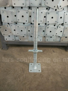 Galvanized Scaffolding Swivel Base Jack for Construction and Formwork pictures & photos