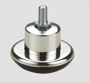 Furniture Caster Carpet Wheel Thread Chrome pictures & photos