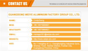 Good Quality Aluminium Profile for Cabinet pictures & photos