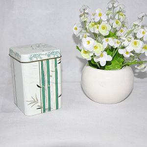 2016 Hot Sale Custom Rectangular Shape Tea Tin Box pictures & photos