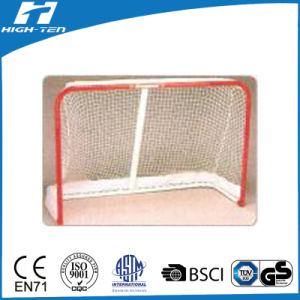 Highten Hockey Goal (Steel tube with red PVC coating) pictures & photos