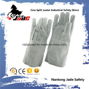 Genuine Leather Industrial Safety Welding Work Glove pictures & photos