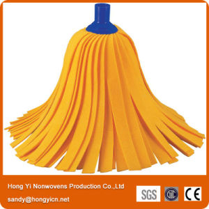Factory Direct Sell Needle Punched Nonwoven Fabric Mop Head pictures & photos