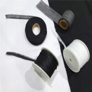 Ep Polyester Woven Fusible Interlining Textile Slotted Tapes for Shirt Collar pictures & photos