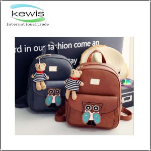 High Quality PU Leather Travel and Casual Backpack pictures & photos