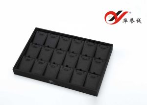 18 Slots Black Silk Cotton Pendant Trays pictures & photos