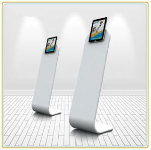 Floor iPad Stand with Dye-Sublimation Printing Graphic pictures & photos