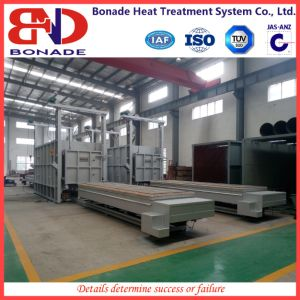 Double Trolley Type Electric Resistance Furnace with Car Type pictures & photos