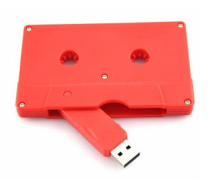Promotion Gift 512MB-64GB Capacity Cassette Tape USB Flash Drive with Custom Logo pictures & photos