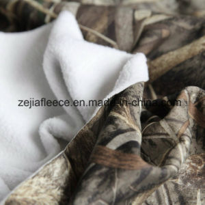 Polar Fleece One Side Brush with Camo Print pictures & photos