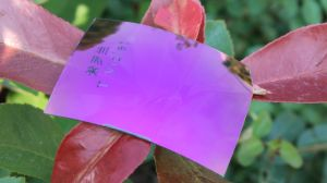 High Quality Colorful Eyeglasses Polarized Tac Lens Replacement Lens (T Violet) pictures & photos
