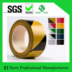 Rubber Adhesive Waterproof PVC Warning Tape pictures & photos