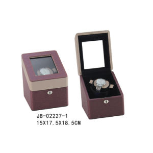 Leather Mens Watch Case Online Watch Display Automatic Watch Winder pictures & photos