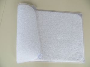 Clear PVC Bath Tub Mat Shower Rug pictures & photos