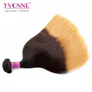 Top Quality Natural Straight Peruvian Ombre Human Hair pictures & photos