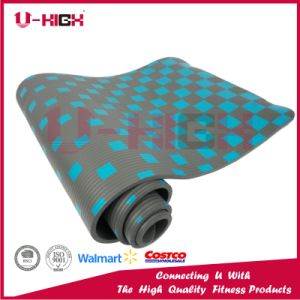 NBR Solid Color Printing Yoga Mat Pilates Exercise pictures & photos