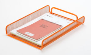 Document Tray/ Metal Mesh Stationery File Tray/ Office Desk Accessories pictures & photos