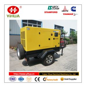 Portalbe Trailer Diesel Power Generator Set 10kw-350kw pictures & photos