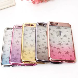 Plating Star Glitter Bling Sparkly TPU Soft Case for iPhone 6 7 pictures & photos