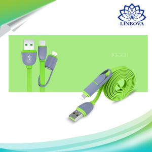 8 Pin Lightning to USB Cable with Micro USB Connector Charge and Sync for iPhone, iPad, Samsung and Android pictures & photos