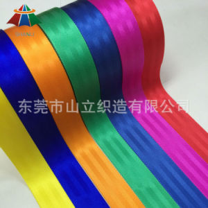 Nylon/Polyester Safety Belt Webbing Straps, Car Seat Belt Webbing pictures & photos
