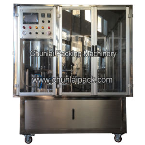 Chocolate Powder Filling Paper Cup Sealing Machine pictures & photos