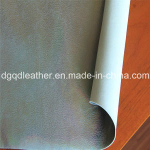 Double-Sided PU Shoes Leather (QDL-SP023) pictures & photos