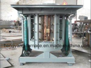 1t Hydraulic Steel Shell If Melting Furnace for Steel pictures & photos