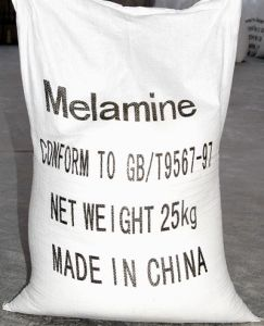 Melamine Powder 99.9% High Pressure Natural Gas Tech Pure White pictures & photos
