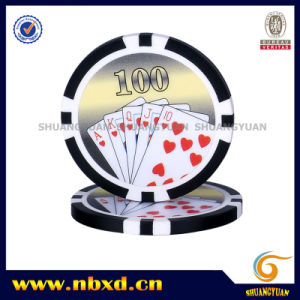 11.5g Sticker Poker Chip with Available Stickers, (SY-D17D-1) pictures & photos