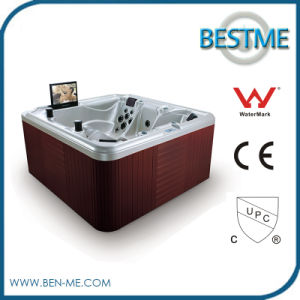 Luxury Massage Outdoor Acrylic Bathtub with Factory Price pictures & photos