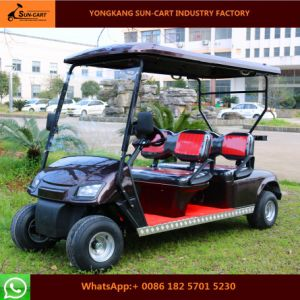 Ce Certification Customized 4 Seater Electric Golf Cart for Golf Course pictures & photos