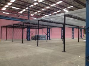 Steel Structural Mezzanine Floor with Steel Deck pictures & photos