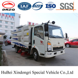 4cbm HOWO Street Road Sweeper Truck Euro 4 with Good Quality pictures & photos