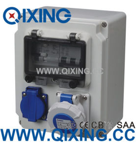 2016 Best Selling Cee Europe Combination Socket Box pictures & photos