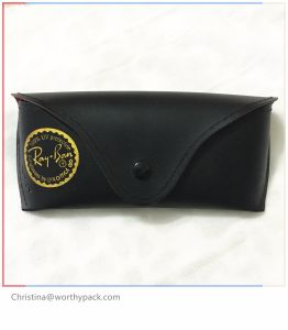 Customized PU Leather Sunglasses Case for Packaging and Gift Purpose pictures & photos
