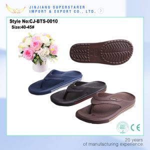 China Factory Cheap Custom High Quality Comfortable Hot Printing EVA Flip Flops pictures & photos