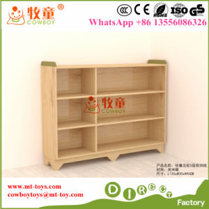 Academy School Kids Furniture Wooden Toy Storage Units in Guangzhou pictures & photos