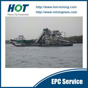 Hot Sale High Recovery Bucket Chain Gold Dredge pictures & photos