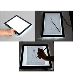 LED Slim Tattoo Copy Board A3 Trace Light Box pictures & photos