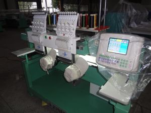 2 Heads Tubular Embroidery Machine pictures & photos
