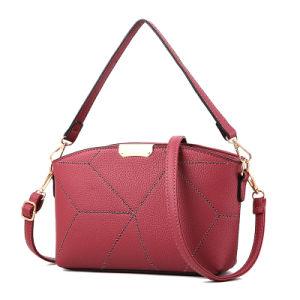 Fancy Ladies PU Leather Handbag/Custom Shoulder Bag Women pictures & photos