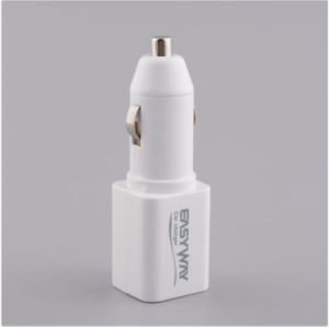 White Color Quad Band GSM Audio Bug Voice Callback Real-Time GPS Tracking Car Charger pictures & photos