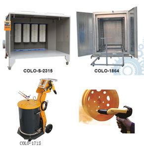 High Quality Powder Coating Equipment for Painting Aluminum pictures & photos