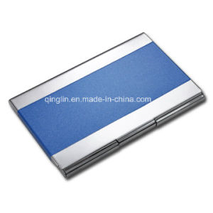 Modern Blue PU Business Card Case pictures & photos