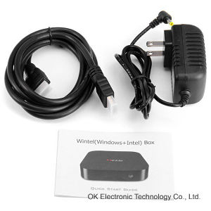 Factory Mic OS Windows 8.1 /Android 4.4 W8 TV Box 2g+32g Mini PC pictures & photos