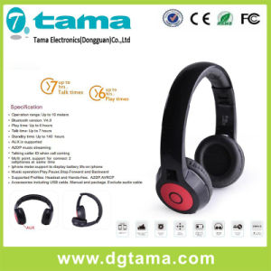 V3.0 Cheap Price Foldable Sport Bluetooth Headphone Sopported Aux in pictures & photos