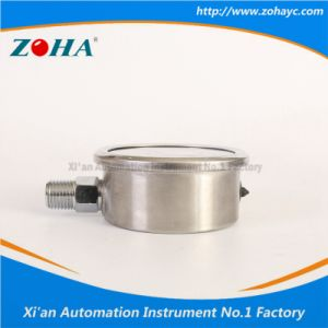 All Stainless Steel Pressure Instrument with Double Scale pictures & photos